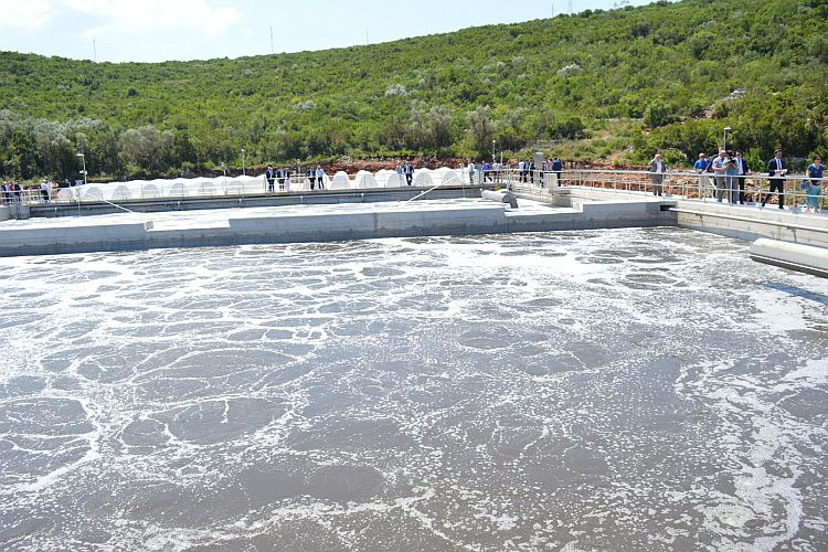 Станция по очистке сточных вод под Тиватом. Фото: Radiodux.me
